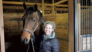 At the Charlotte Equestrian Center, Ashley Meacham Isn't Just Horsing Around