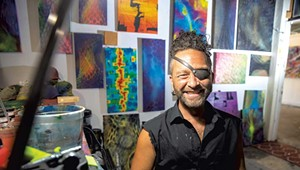 Painter Will Clingenpeel Pushes Beyond Limits