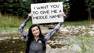 To Fundraise, a Vermonter Will Let Donors Choose Her Middle Name