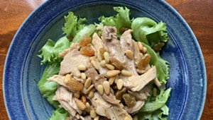 Home on the Range: Warm Turkey Salad Inspired by Lidia
