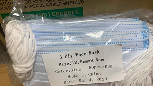 Attorney General Settles With Man Who Sold Masks at Huge Markup
