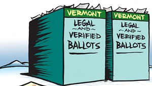 Why Rob Roper Won't Stop Talking About Voter Fraud in Vermont