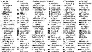 Crossword: 'Weird Wardrobe' (2/3/21)