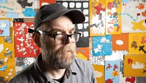 Artist Matt Neckers' Cataclysmic View at Vermont Studio Center