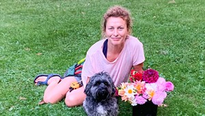 Audrey Bernstein Turns Backyard Blossoms Into a Business