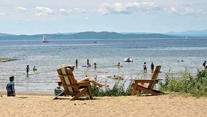As Temperatures Soar, Vermonters Ride the Waves at the Burlington Surf Club