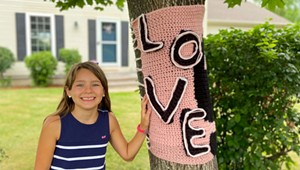 Tree Huggers: A Pride Month Display Sends a Message of Love