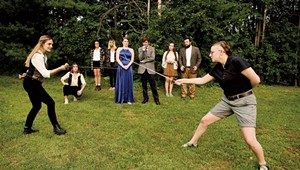 Foul Contending Rebels Theatre Cooperative Gives 'Hamlet' a Feminist Twist