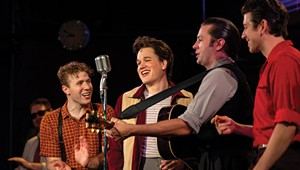 Theater Review: 'Million Dollar Quartet,' Northern Stage