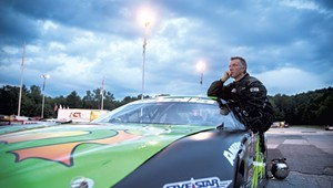 Montpeculiar: Rain, Not Politics, Postpones Governor's Racing Debut