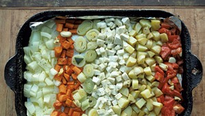 Mealtime: Roasted Vegetable Minestrone Soup