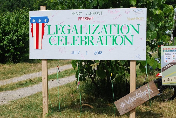 Vermonters Celebrate Cannabis Legalization