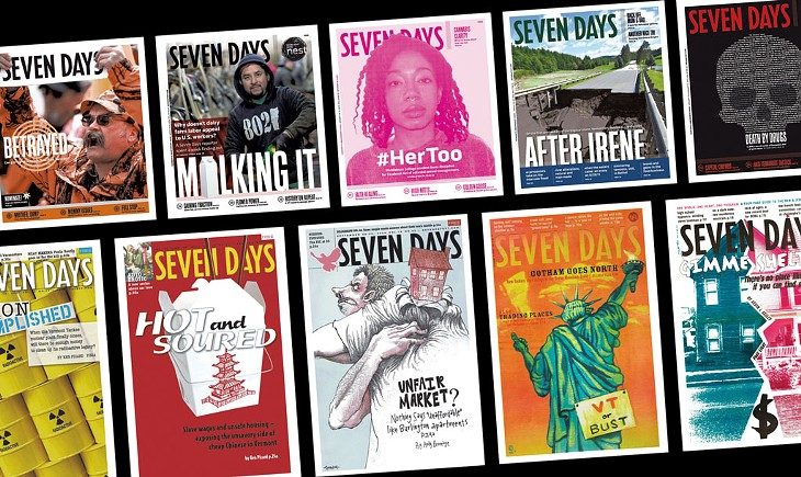 """Seven Days """"Covers"""" News 1995-2020"""