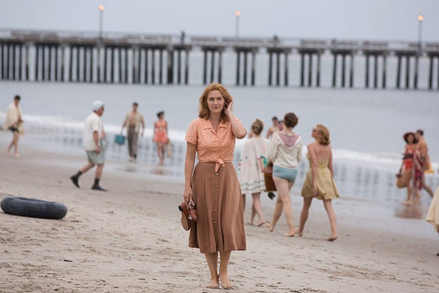 PIER PRESSURE Winslet is over-the-top as a Coney Island clam-shack waitress on the verge of a nervous breakdown.