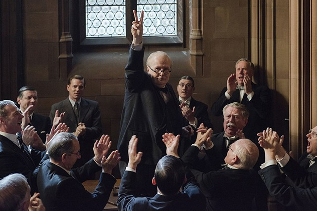 IMITATION GAME Oldman now has two — count 'em, two — Oscar nominations, thanks to his sly and spirited channeling of Churchill.