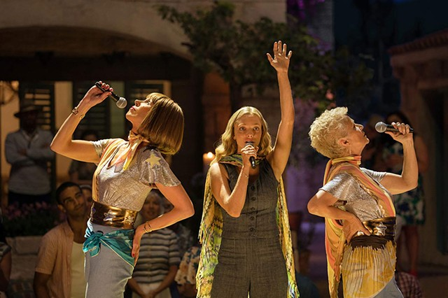 DANCING QUEENS Seyfried steps into Streep's place in Parker's sequel to the hit ABBA musical.