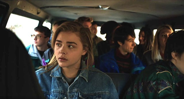 GUILT TRIP Moretz plays a high schooler who learns the truth about ex-gay therapy