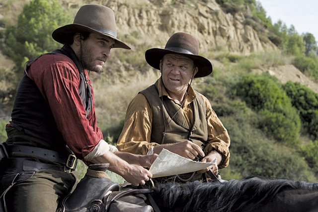 THE GOOD, THE BAD AND THE ODD Phoenix and Reilly play fraternal assassins in Audiard's expectation-frustrating western.