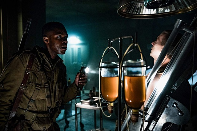 Z-DAY From J.J. Abrams, sort of, comes a monster movie on a mission to mine Nazi medical experiments for entertainment value.