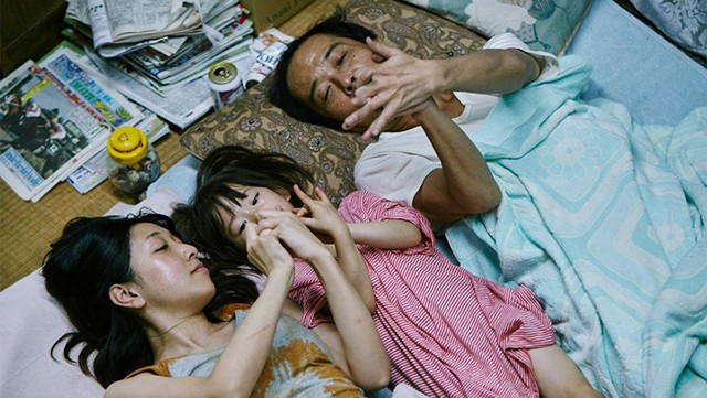 HEART STEALERS Living by their wits, a charismatic couple raises a stolen child in Koreeda's powerful Palme d'Or-winning drama.