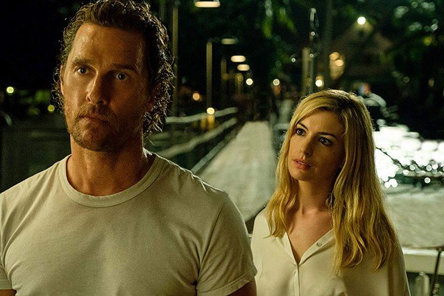 HOOK, LINE AND STINKER McConaughey plays a fi sherman caught in an increasingly bizarre net in Knight's not entirely-intentionally absurdist noir.