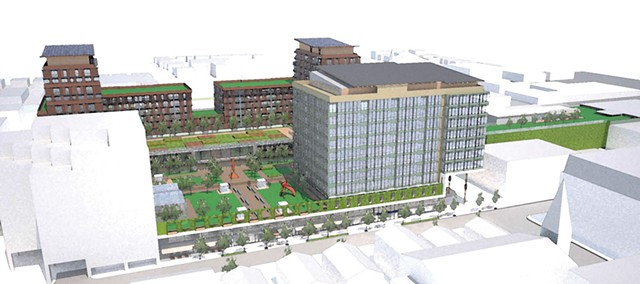 Proposed Downtown Tower Development