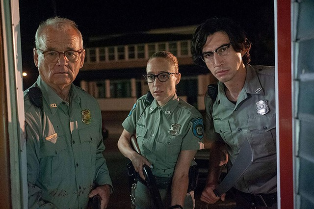 UNDEAD AIM Jarmusch's Romero homage pits small-town police against a zombie onslaught.