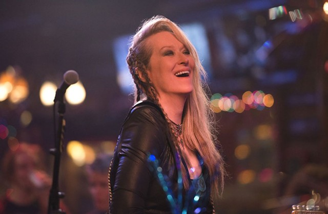 ROCK ON, MOM: Streep channels her inner guitar god in Demme's uneven comedy-drama.