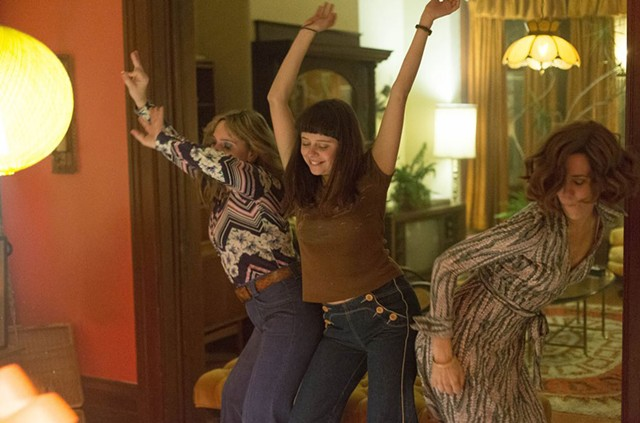 GIRL POWER HOUR: Powley and Wiig play a mom and daughter who find their self-actualizations clashing in the Me Decade.