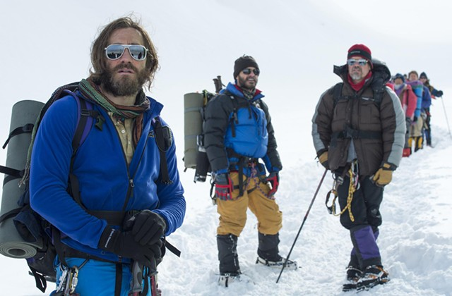 PEAK EXPERIENCE: The real battle isn't reaching the summit but living to tell the tale in this fact-based adventure drama.
