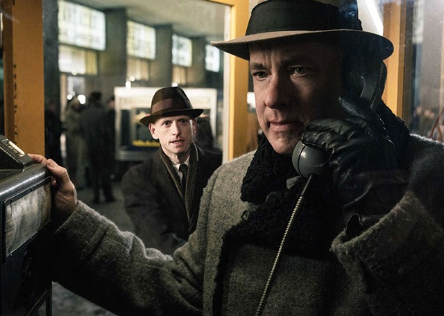 CALL OF DUTY: Hanks is great in Spielberg's stranger-than-fiction story of an ordinary lawyer asked to take extraordinary risks by his government.