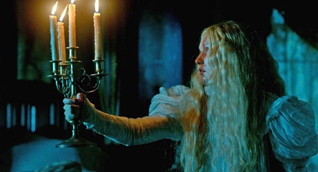 HAIR METTLE: Wasikowska goes full pre-Raphaelite in del Toro's twisted gothic romance.