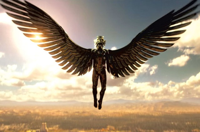OZ R US Winged monkeys would not have seemed entirely out of place in the garish world of Proyas' action epic.