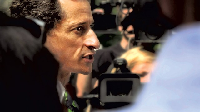 SEXTS, LIES AND VIDEOTAPE Anthony Weiner's fall from grace — for a second time — is the subject of this mesmerizing documentary.