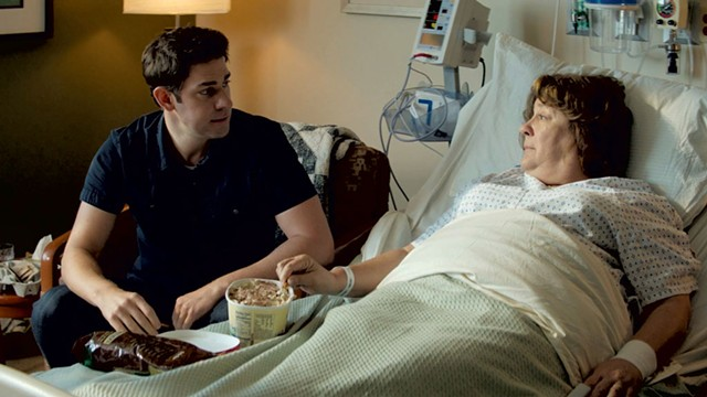 NOTHING TO HOLLAR ABOUT Krasinski and Martindale bond in a forgettable family drama directed by the former.