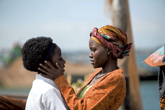 ALL THE RIGHT MOVES Nalwanga and Nyong'o play mother and daughter in this family-friendly drama about a young chess champ.