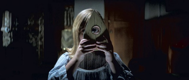 JUST SAY NON Wilson plays a girl who gets way too friendly with a Ouija board in Flanagan's passably creepy horror sequel.