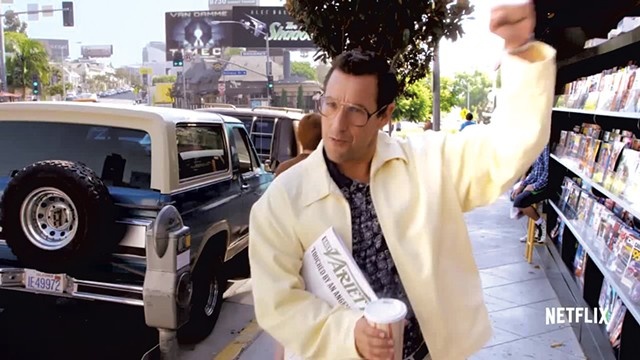 NET THREAT Sandler's latest comedy opened in 50 countries this weekend and, to the chagrin of theater owners, not a single ticket was sold.