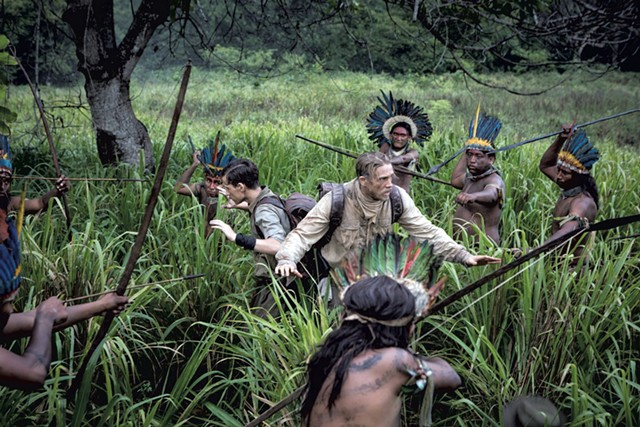 SLINGS AND ARROWS Hunnam ventures deep into the Amazon in Gray's historical epic.