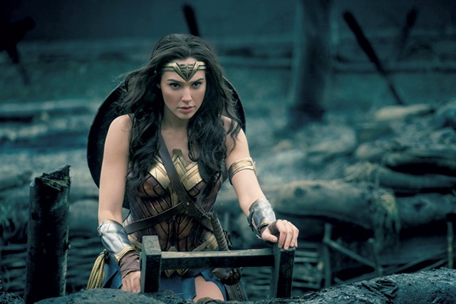 HEAR HER ROAR Gadot prepares to brave no-man's-land in Jenkins' female-centric DC Comics flick.