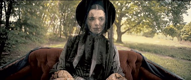VEILED MOTIVES Weisz plays a widow who may or may not have dark secrets in Michell's period drama.
