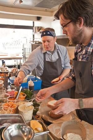 Chef-partners Nathaniel Wade and Aaron Josinsky