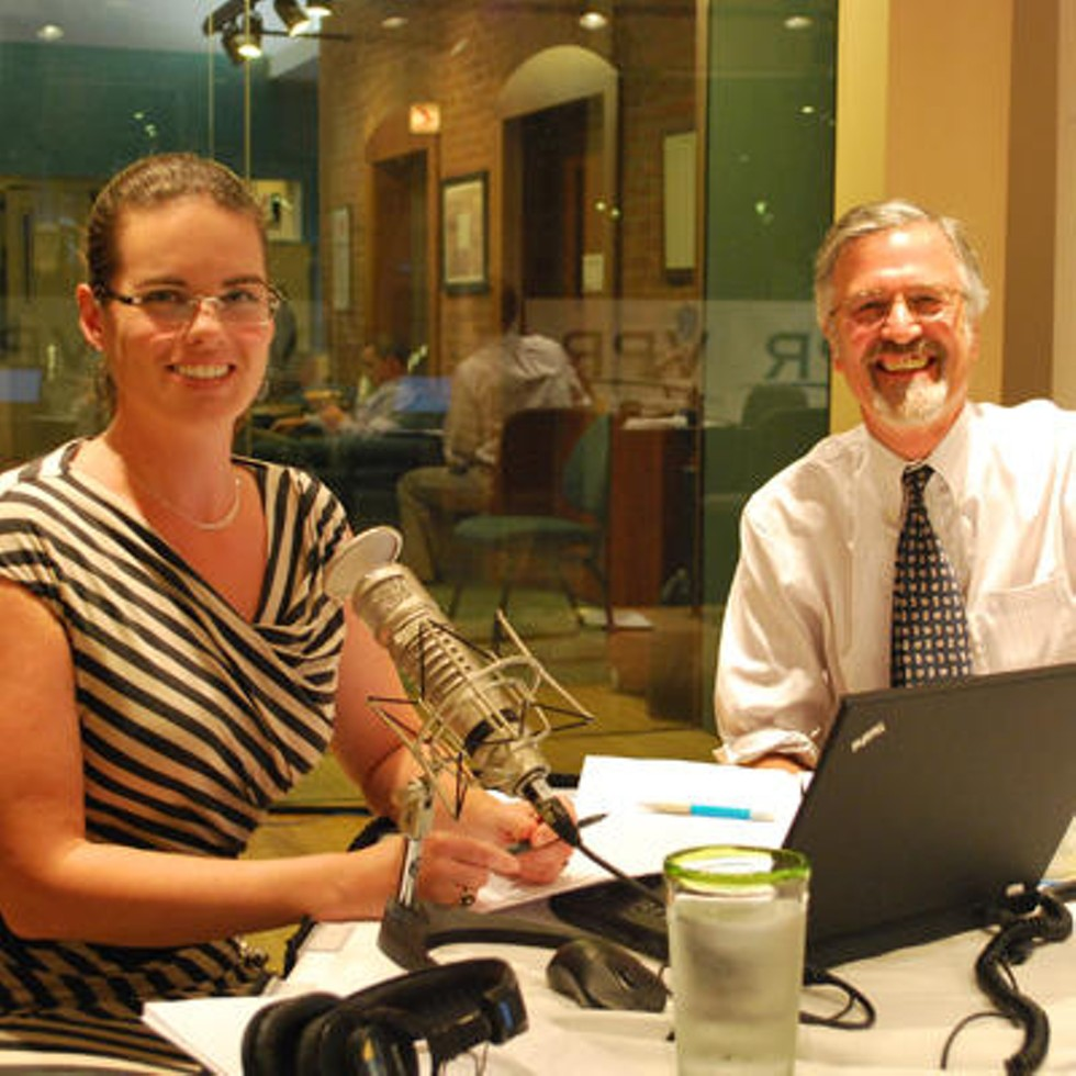 Vermont Edition hosts Jane Lindholm and Bob Kinzel - VPR