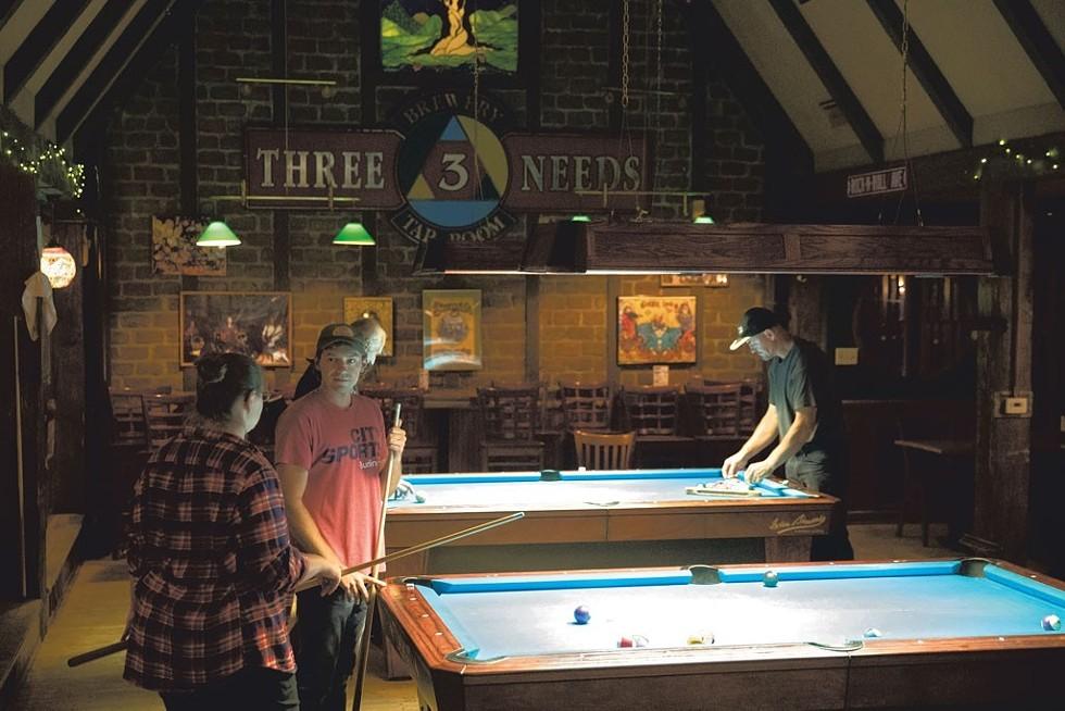 Three Needs Brewery & Taproom - JAMES BUCK