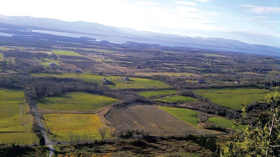 The view from Mt. Philo's peak - BROOKE BOUSQUET