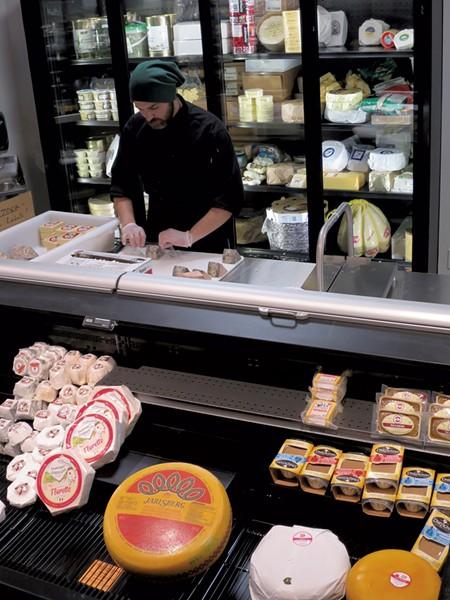 Cheese department - MATTHEW  THORSEN