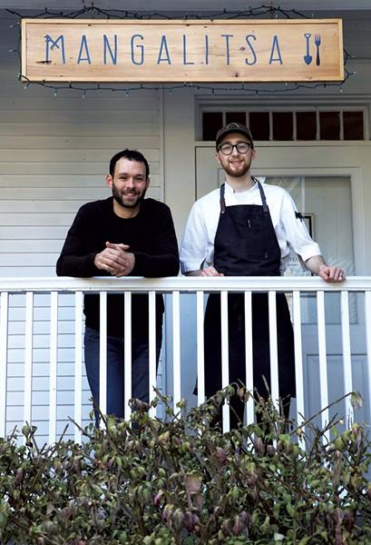 Matt Lombard (left) and Nick Laurendeau - CHIP ALLEN