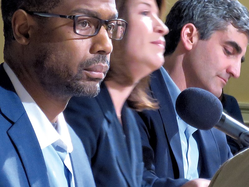 The mayoral candidates - MATTHEW THORSEN
