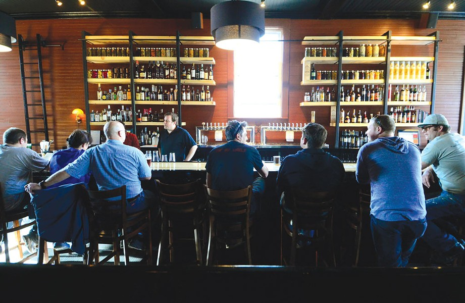 The bar at Prohibition Pig - FILE: JEB WALLACE-BRODEUR
