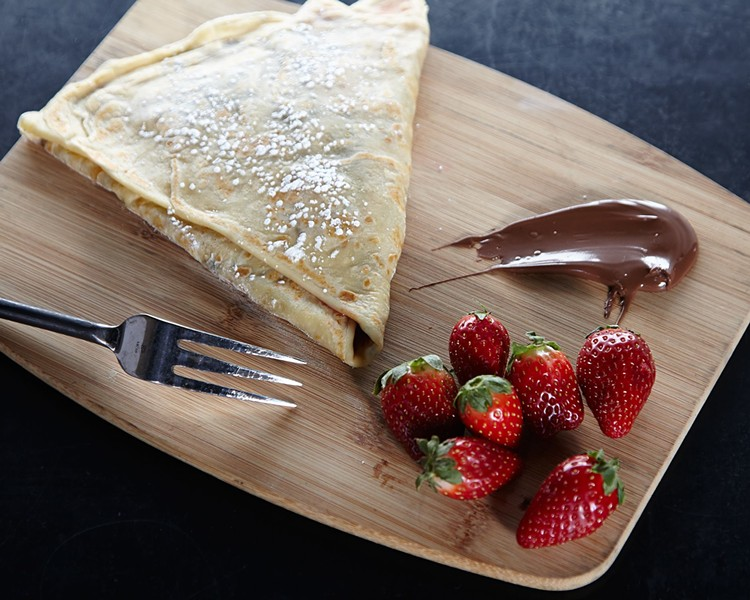 The Lovemaker crêpe - COURTESY OF SKINNY PANCAKE